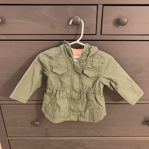 🆕💛Baby Girl Hooded Utility Jacket